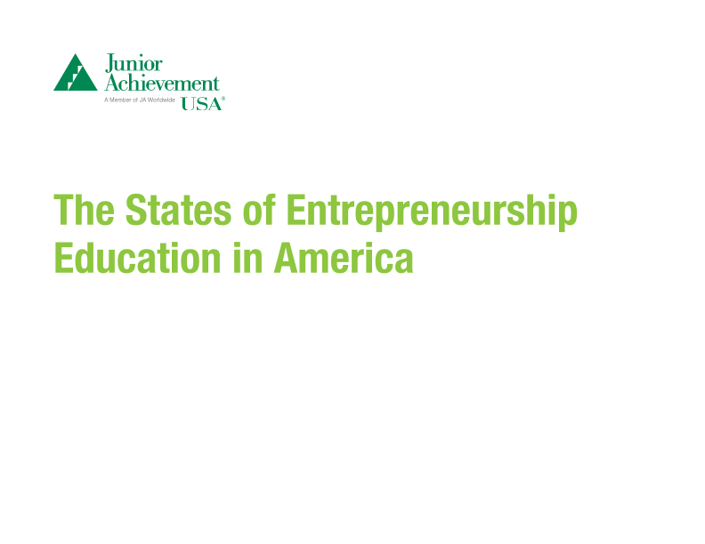 The 2019 States of Entrepreneurship Report