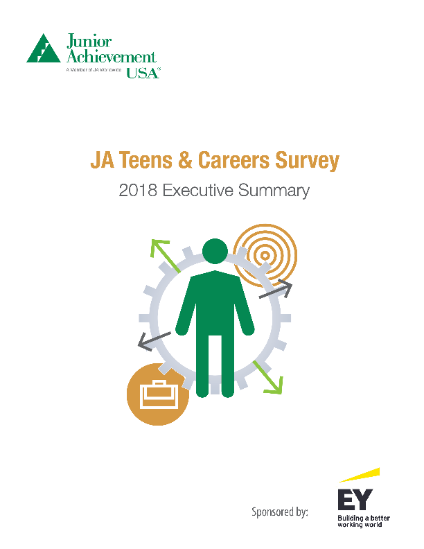 2018 Teens and Careers
